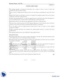 Lesson 37, Capital Structure-Business Finance-Lecture Notes, Study notes for Business Finance
