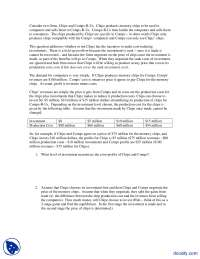 specific-Applied Economics-Aassignments