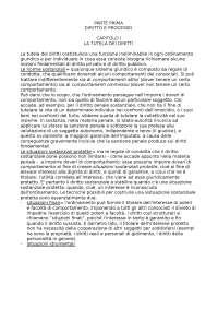 Schema di procedura civile - Diritto Processuale Civile