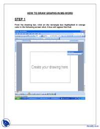How To Draw Graphs In Microsoft Word-Microsoft Office-Handout