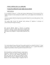 Esame di Fisica Applicata - Medicina - Roma Tor Vergata