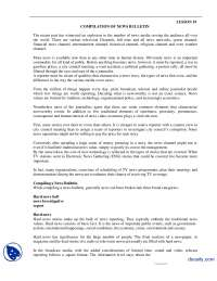 Compilation Of News Bulletin-Reporting and Production-Handouts