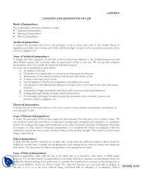 Kinds of Jurisprudence-Business and Labour Law-Lecture Handout
