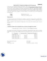 Depreciation Part 1-Financial Accounting-Lecture Handout