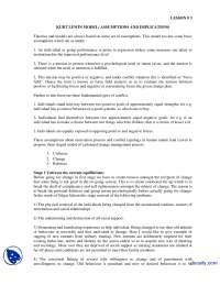 KURT LEWIN Model-Change of Management-Lecture Handout
