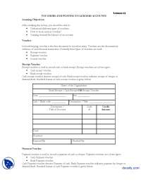 Voucher-Financial Accounting-Lecture Handout