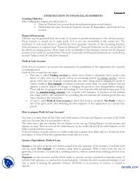 Financial Statements Part 1-Financial Accounting-Lecture Handout