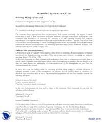 Problem Solving-Experimental Psycology-Lecture Handout