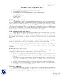 History of Public Administration-I-Introduction to Public Administration-Lecture Handout