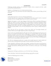 Advertising-Marketing Managment-Lecture Handout