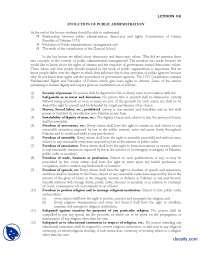 Evalution of Public Administration-Introduction to Public Administration-Lecture Handout