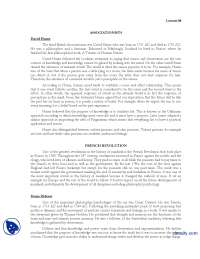 David Hume-History of Psycology-Lecture Handout