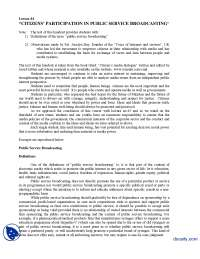 Citizens Part 3-Globalization of Media-Lecture Handout