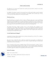 The Global Divide-International Relations-Lecture Handout