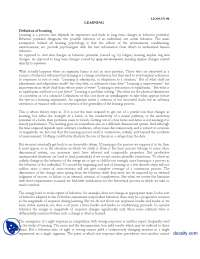 learning-Experimental Psycology-Lecture Handout, Exercises for Experimental Psychology