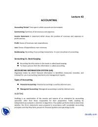 Accounting-Introduction to Business-Lecture Handout