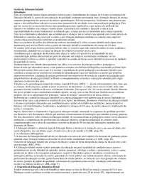 Gestão da Educação Infantil, Notas de estudo de Atualidades