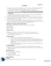 Learning-Introduction to Psycology-Lecture Handout