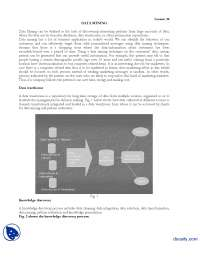 Data Mining-Information Technology-Lecture Handout