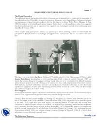 Organism Environment Relationship-Environmental Psychology-Handout