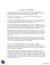 2006Final Exam - Answer All Questions-Education Economics-Exam Paper Solution