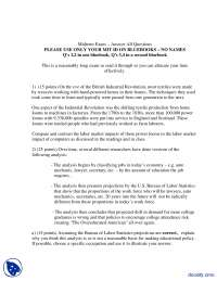 2006Midterm Exam -Education Economics-Exam Paper