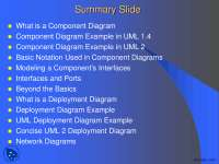 Summary Slide-Object Oriented Analysis And Design-Lecture Slides