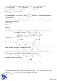 Signali i sistemi-Zadaci-Elektrotehnicki fakultet zr(Fourier)