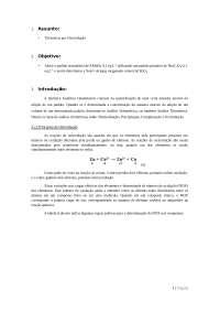 Relatório 05 - Volumetria por Oxidação-Redução, Provas de Engenharia Hídrica