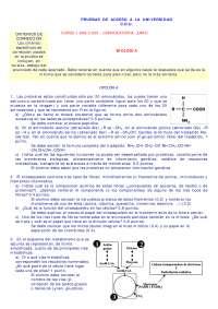 Prueba de acceso a la universidad - LOGSE - 14 - Exámenes - Biología