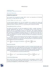 Ejercicios Resueltos Análisis Lineal Sucesiones Y Series De Funciones  -  Ejercicios  -  Análisis