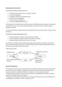 Appunti di gestione documentale