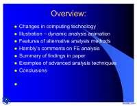 Bridge Deck Behaviour-Management Information System-Lecture Slides