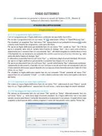Informatica - patente syllabus 4 - foglio elettronico