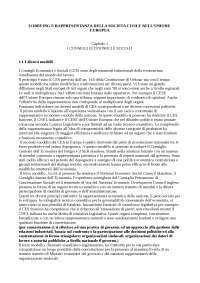 Sociologia Delle Relazioni Internazionali - LOBBYING E RAPPRESENTANZA DELLA SOCIETA' CIVILE NELL'UNIONE EUROPEA