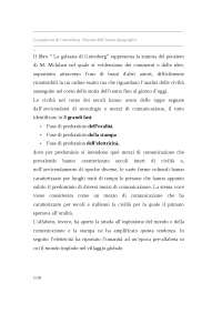 La galassia Gutenberg: nascita dell'uomo tipografico - appunti di Sociologia - Marshall McLuhan