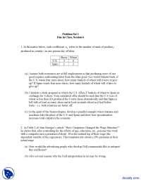 Problem Set 1-Urban Studies and Planning-Assignment