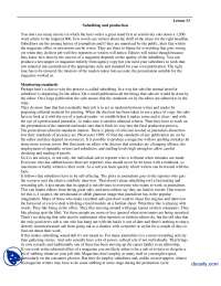 Subediting and Production-Magzine Journalism-Lecture Handout