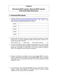 Ekg simulator-Akvizicija elektrofizioloskih signala-Vezbe-Elektrotehnicki fakultet