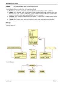 Vezbe-Projektovanje softvera-Racunarska tehnika i informatika 01-15