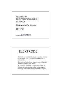 Elektrode-Akvizicija elektrofizioloskih signala-Skripta-Elektrotehnicki fakultet