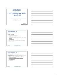 Model komunikacionog sistema-Telekomunikacione mreze-Skripta