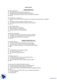 Tejidos Examen Parcial De Histologia Docsity