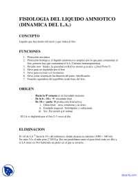 Fisiología del Liquido Amniotico, Apuntes - Obstetricia.TextMark.Image.Marked