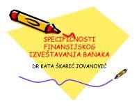 Specificnost banaka-Bilansi preduzeca i banaka-Slajdovi-Ekonomski fakultet_1
