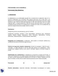 Enfermedades oseas metabolicas - Apuntes - Reumatologia