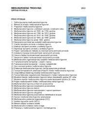 Medjunarodna trgovina -Ispit-Ekonomski fakultet2012