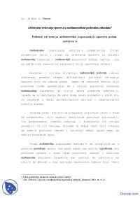 Medjunarodno privredno pravo arbitraza--Skripta-Medjunarodno privredno pravo-Ekonomski fakultet