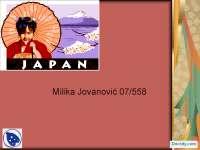 Privredni sistem Japana-Slajdovi-Savremeni privredni sistemi-Ekonomski fakultet