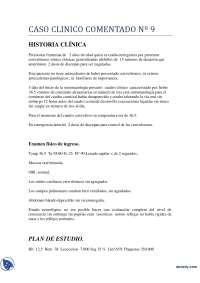 Convulsiones Tónico - Clónicas - Caso Clínico - Clínica Médica